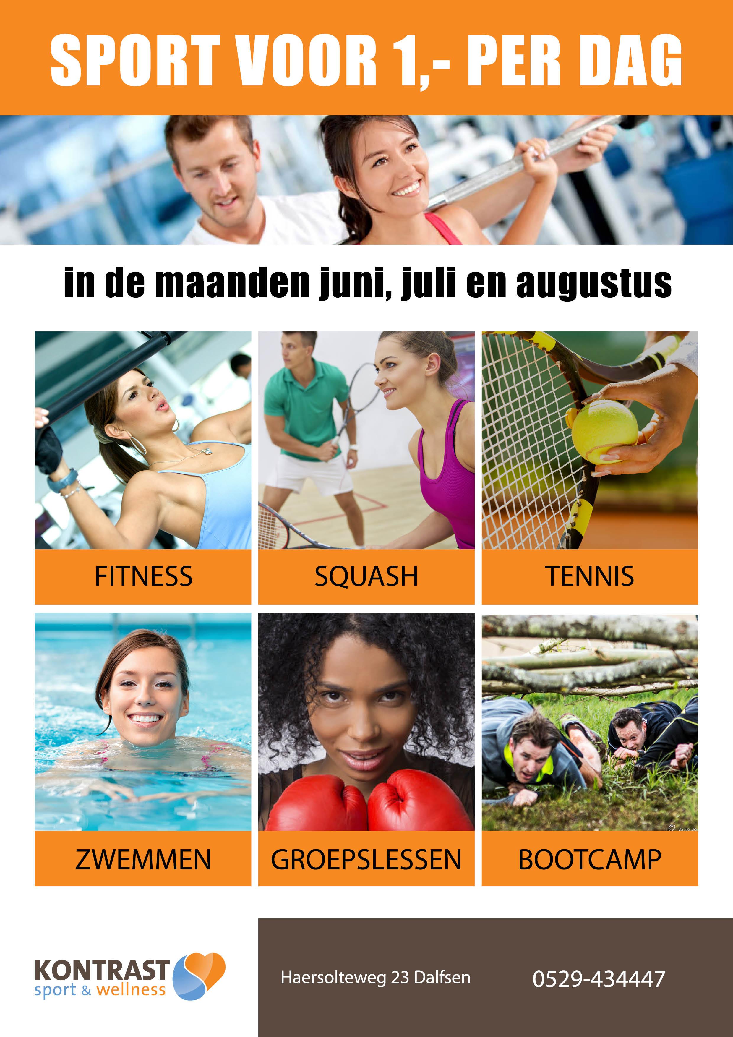 180522 sporten voor 1 euro per dag