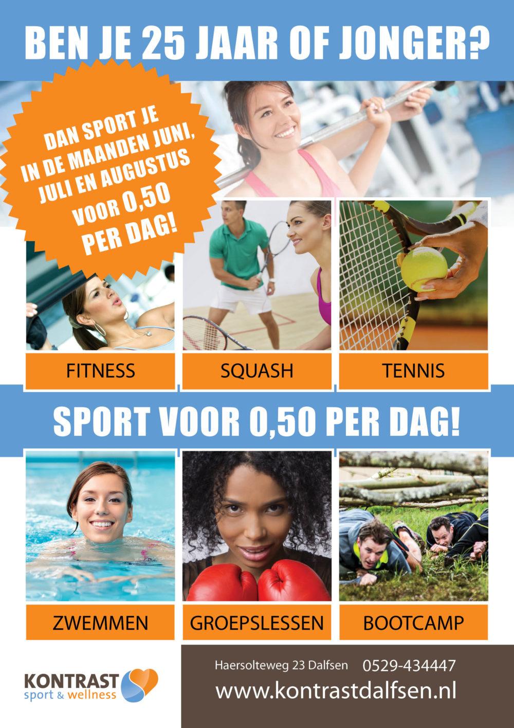 180530 sport voor 50 cent per dag