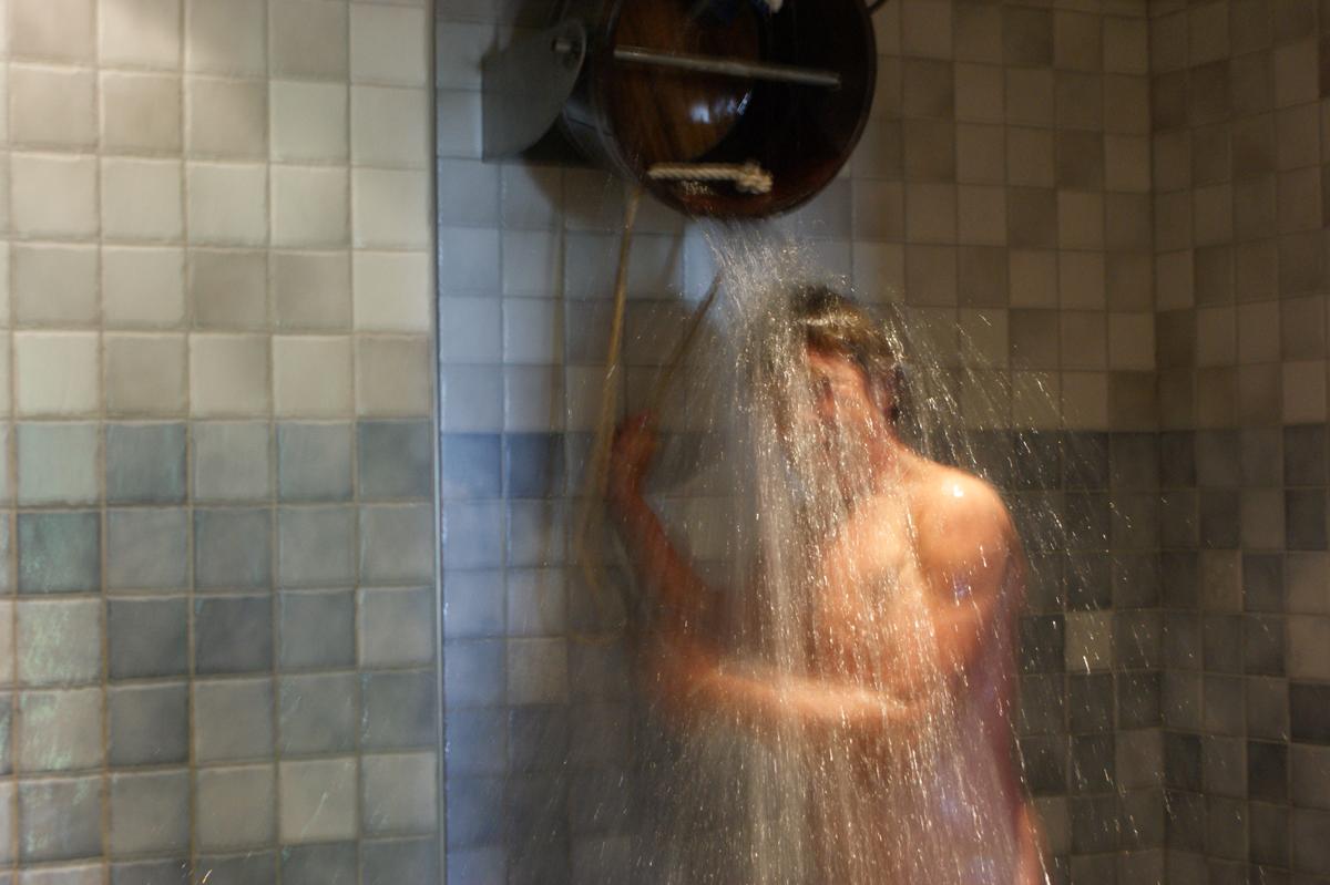 Sauna Koud Water Douche's