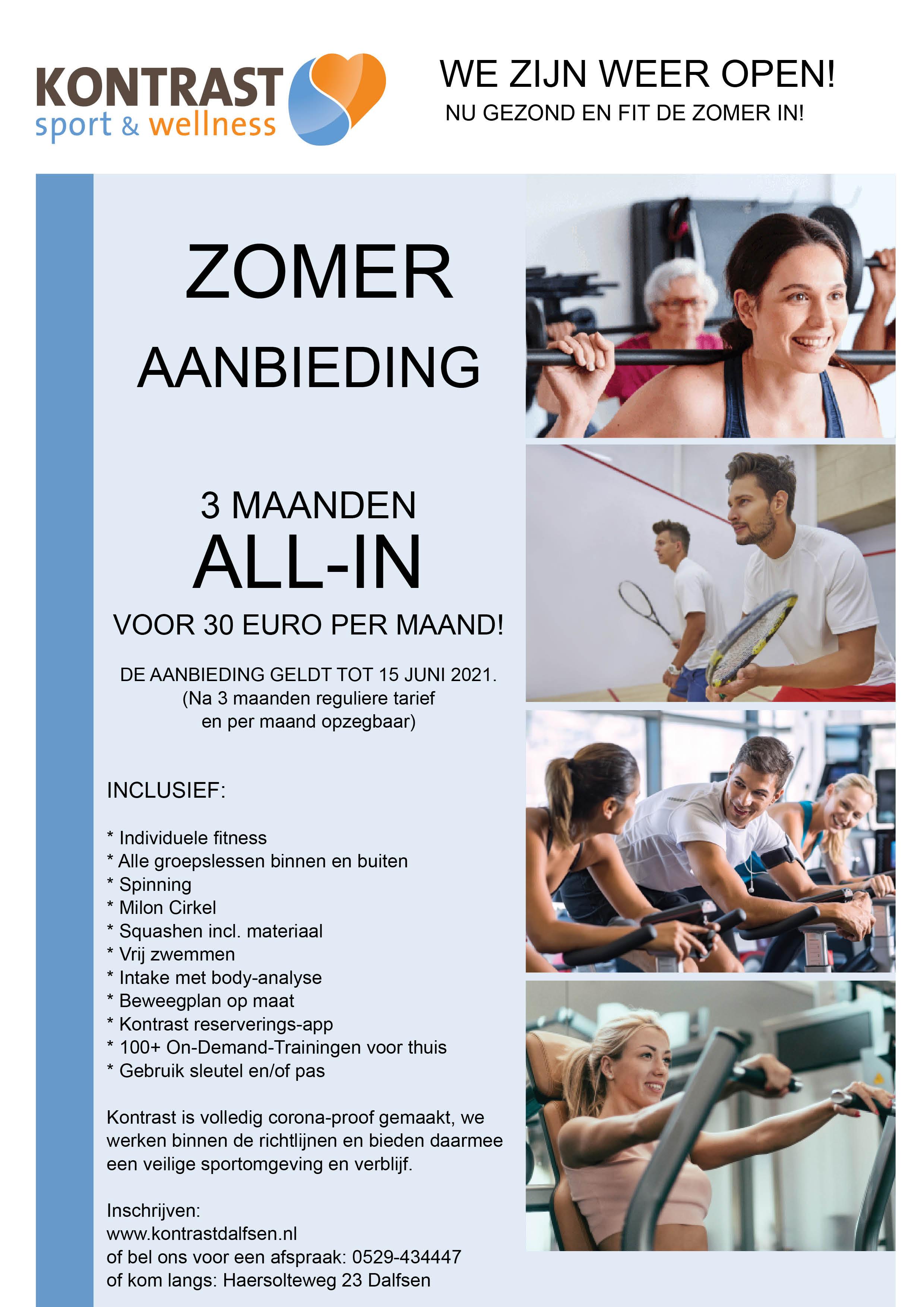 210520 advertentie A4 Zomeraanbieding